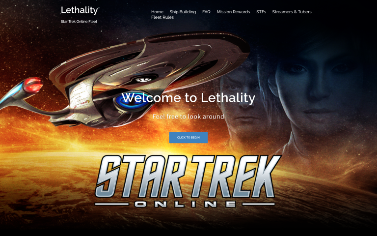 Click to go to the official home of Lethality STO