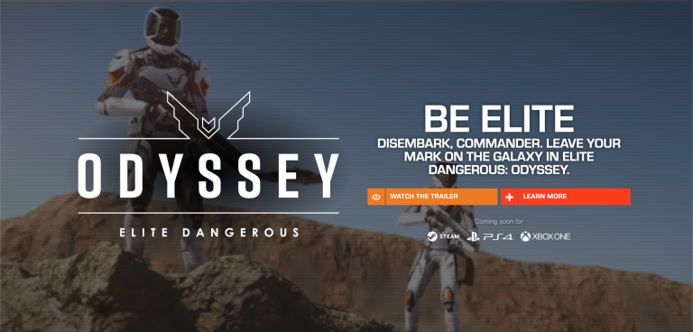 Click to go to the official home of Elite Dangerous